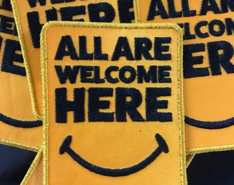 All are welcome here EDC Patch