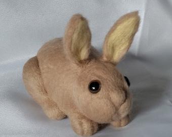 Needle Felted Rabbit/ Easter Bunny