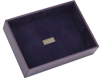 Stackers Purple & Purple Classic Deep Open Jewellery Tray LC73160