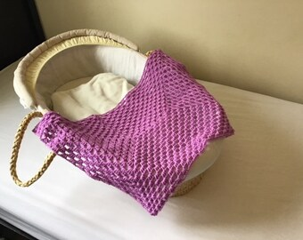 Moses Basket Baby Blanket