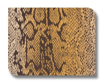 Snakeskin paper napkin for decoupage, mixed media, collage, scrapbooking x 1. No. 1227 Snake skin
