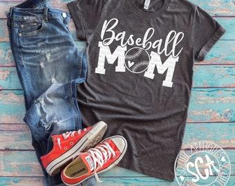 Baseball mom, baseball svg, Love baseball svg, baseball cutfile, svg file, baseball shirt, baseball clipart, baseball mom svg, grunge svg