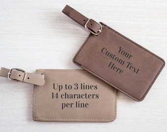 Create Your Own Personalized Luggage Tag:  Custom Luggage Tag, Personalized Traveler Gift, Design Your Own Luggage Tag, SHIPS FAST