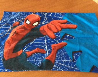 Spiderman Pillowcase-Polyester Material