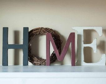 Home Sign, Mantle Decor, Housewarming gift, Home Decor
