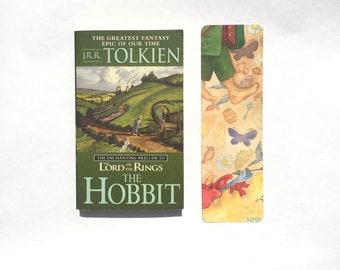 HOBBIT signet haute qualité Bilbon Sacquet favori avec pieds de fée peinture inspirée par j.r.r. tolkien de l'arrière de hobbit à nouveau