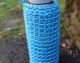 Hydro Flask 40oz 550 Cord,  Paracord Cozy, Water Bottle Holder **Request a Color**