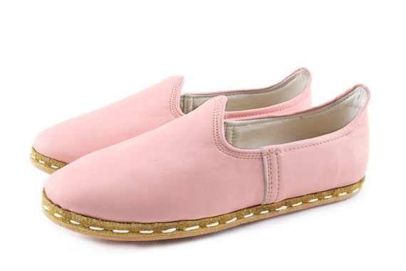 Cotton Leather Candy Leather Shoes Flats Slip Shoes Women Handmade Ons Flat rBrzwnx