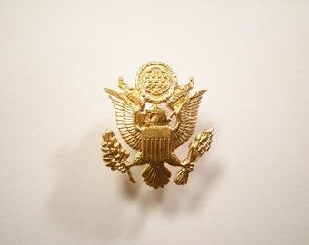1 Goldplated U.S. Military Hat Pin