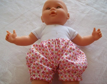 clothing for infants or dolls of 36 cm: bloomers or shorts