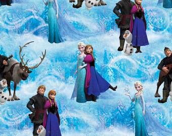Disney Frozen Character Scenic