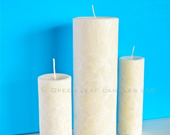 XL Unity Candle Set - Natural Palm wax Candles