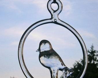 Vintage Kosta Boda Bird Suncatcher designer Bertil Vallien