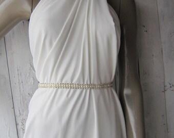 Bridal belt, pear belt, sash belt, wedding accessories, dress belt