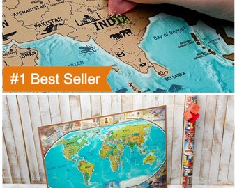 Easter Map Gift, World Map Gift, Map Wall Poster, World Map Poster, Easter Boy Gift, Gifts For Teen Boys, Teenage Boy Gifts, Gift For Teen,