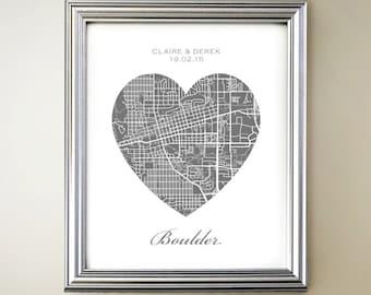 Boulder Heart Map
