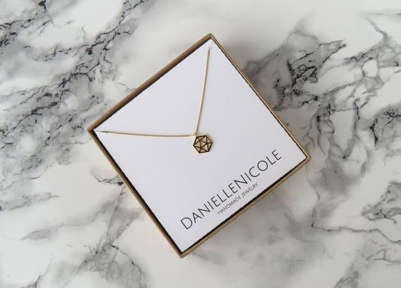 Dainty Geometric Necklace, Pendant Necklace, Dainty Jewelry, Everyday Jewelry, Layered Necklace, Statement Jewelry, Simple Necklace, Boho