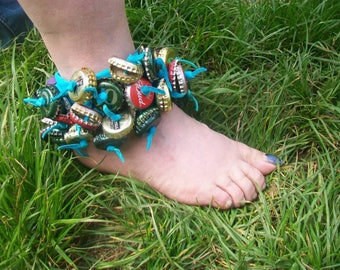 Handmade ankle cuff for dancing/festivals/ceremonies