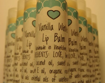 LiLi's Vanilla Wintergreen Lip Balm