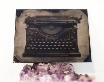 Typewriter, Original Tintype
