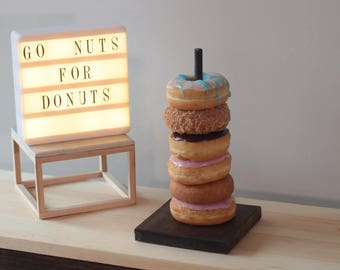 Donut Bar, wedding Donut Stand, Donut Stand,Donut Display, Donut Party Decor, Dessert Bar, Donut Holder, Doughnut Stand, Doughnut Bar, Party