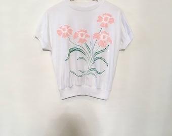 80's Spring Garden Top