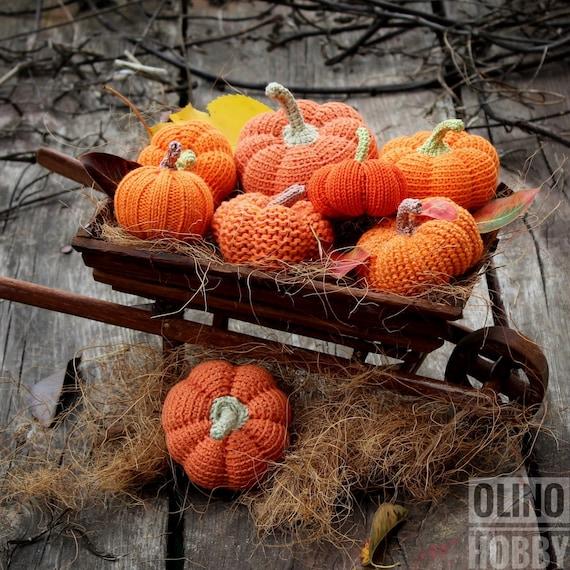Kết quả hình ảnh cho HALLOWEEN PUMPKINS knitting