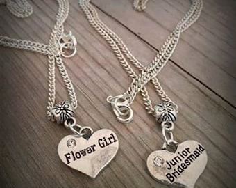 Flower Girl or Jr Bridesmaid Necklace