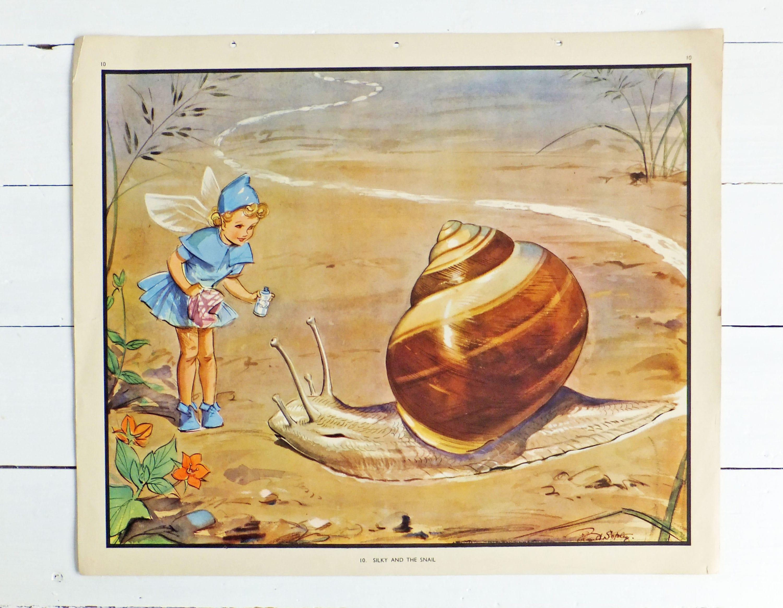 Nursery wall art Playroom print Large Vintage School Poster