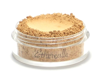 "Vegan Mineral Foundation Powder - Delicate - ""Custard"" (light-medium shade with neutral undertone) Large Net wt 7g Jar"
