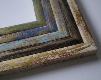 "Picture frame 12x16"" photo frame wood rustic home decor 30x40 cm wedding frame poster frame solidwoodshop"