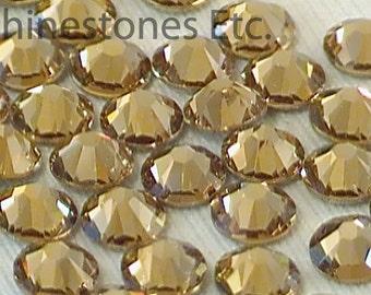 Lt Colorado Topaz 16ss Swarovski Elements Rhinestones Flat Back 36 pieces