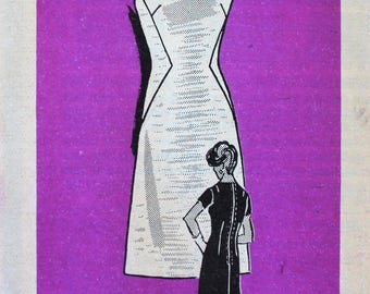 1960s Dress Pattern - Mail Order Anne Adams 4710 Vintage Sewing Pattern - Bust 36