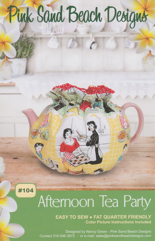 Nachmittags Tee-Party Tee gemütlich Muster zu machen DIY
