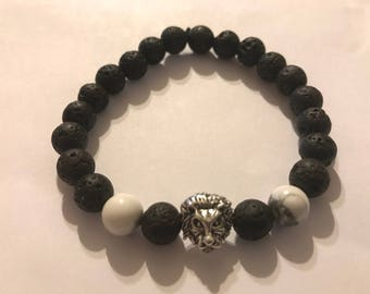Essential oil diffuser bracelet-lion