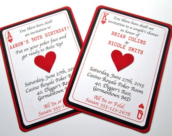 Casino Invitations, Casino Party, Casino Birthday Invitations Poker Invitation Casino Night Casino Invite Casino Theme Las Vegas Invitations