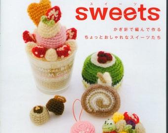 Sweets Amigurumi Crochet Japanese Ebook PDF Pattern