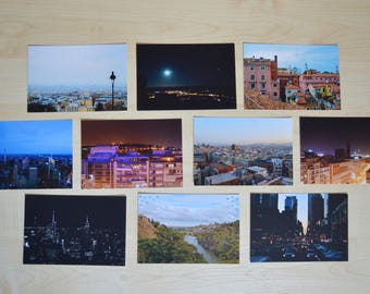 Cityscapes Postcard Pack x 10
