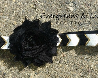 Midnight Geometric Headband