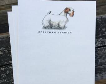 Sealyham Terrier Dog Note Card Set