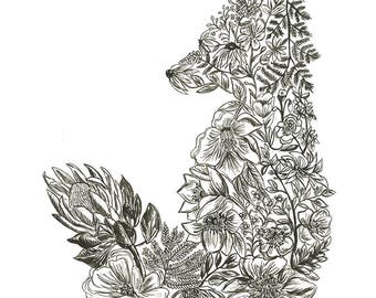 Botanical Fox