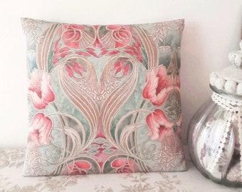 New Design Art Cushion cover 40 x 40 cm Retro Vintage handmade
