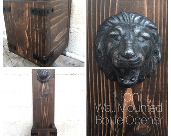 Leonardo the Lion Bottle Opener