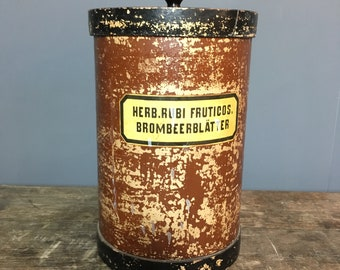 Large Vintage German Apothecary Jar