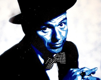 Frank Sinatra Art Print by Ray Ferrer 11x14 or 16x20