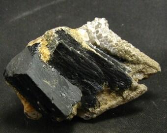 """Ilvaite + Quartz Cluster From China - 1.8"""""""