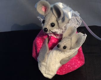 Mouse with Baby