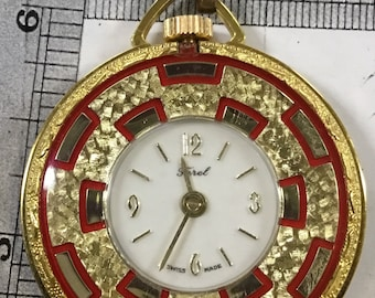 Used Ferel pocket watch pendant - works