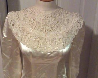 1940s, Vintage, Bridal Gown