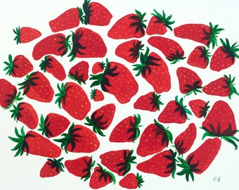Strawberries on My Mind